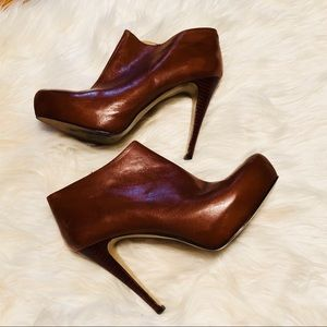 Nine West Leather Booties🌸